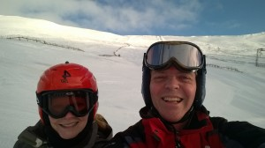 1 Glenshee 23 February 2016 - Great Day on the pi...