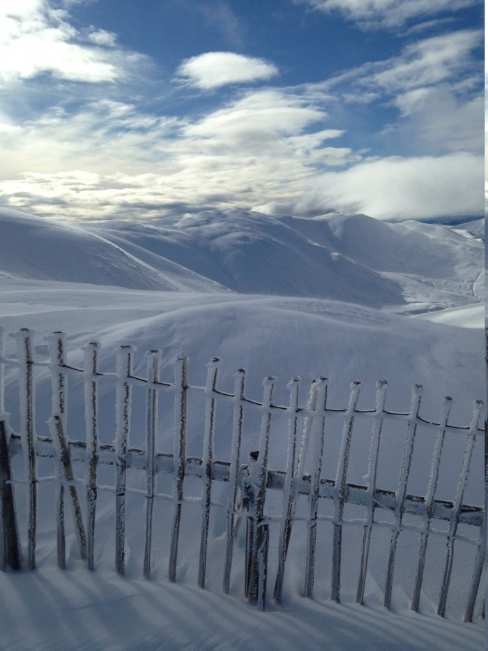 1 Glenshee was out of this world on Wednesday