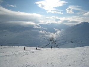 1 Ski Area from Carn Aosda