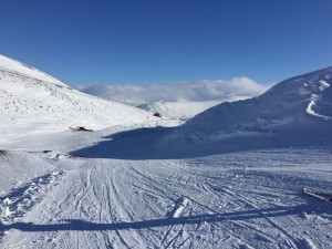 2 Skiing last week!