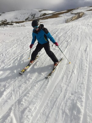 5 Skiing last week!