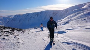 1 Ski Touring Carn of Claise