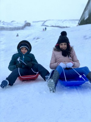 2 Sledging today  6 Jan 18 18:02