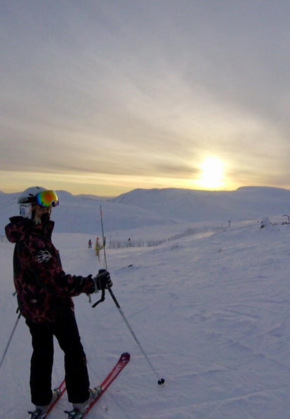 Fab weekend skiing @ Glenshee 06\/01\/18 :-))