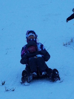 Glenshee sledging and boarding fun 13 Jan 18 15:35