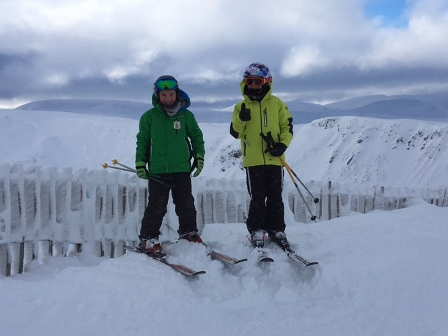 1 Hamish & Ross on first adventure to Glenshee