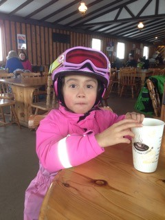 1 First time skiing @ five years old.