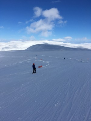1 Glas Maol 9th March .Fabulous